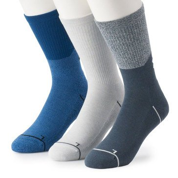 hot sales be0f3 e2dcd Under Armour Men s Phenom 5.0 3-Pack Solid Crew Socks Large