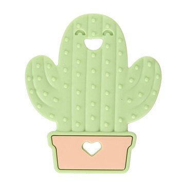 Bumkins® Silicone Teether: Cactus