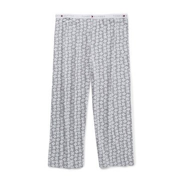 Tommy Hilfiger Women's H Printed Sleep Pants in Plus Sizes