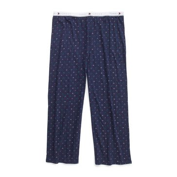 Tommy Hilfiger Women's Dot Printed Sleep Pants in Plus Sizes