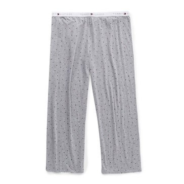 Tommy Hilfiger Women's Tommy Puzzle Printed Sleep Pants in Plus Sizes