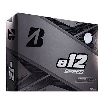 Bridgestone E-12 Speed White Golf Balls, 12-Pack