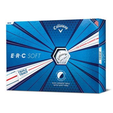 Callaway Golf ERC Soft White Golf Balls, 12-Pack