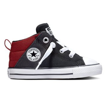 Converse Infant/Toddler Boy's Chuck Taylor All Star Axel Canvas Mid Sneaker