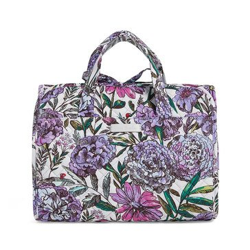 Vera Bradley Hanging Travel Organizer Iconic Lavender Meadow
