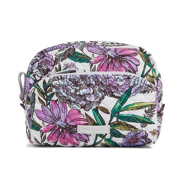 Vera Bradley Medium Cosmetic Iconic Lavender Meadow