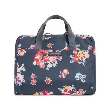 Vera Bradley Hanging Travel Organizer Lighten Up Tossed Posies