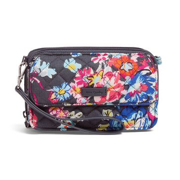 Vera Bradley All in One Crossbody Iconic RFID Pretty Posies