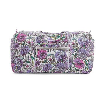 Vera Bradley Large Travel Duffel Iconic Lavender Meadow