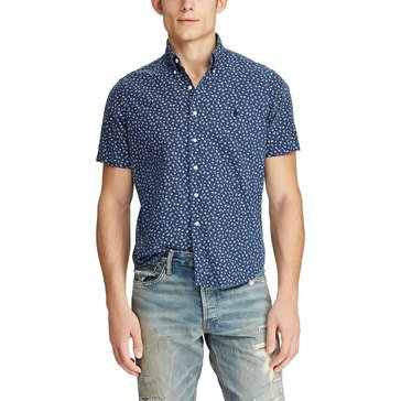 Polo Ralph Lauren Men's Oxford Printed Floral Sport Shirt