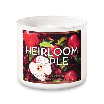 Gilded Garden Heirloom Apple 3-Wick Candle