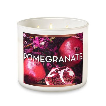 Gilded Garden Pomegranate 3-Wick Candle