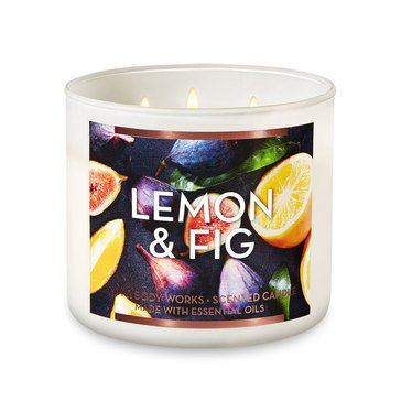 Gilded Garden Lemon/Fig 3-Wick Candle