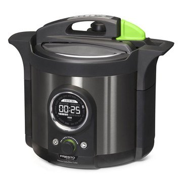 Presto Precise 6-Quart Electric Pressure Cooker Plus (02142)