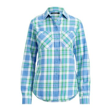 Lauren Ralph Lauren Women's Plaid Shirt
