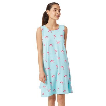Yarn & Sea Women's Breakwater Floral Printed Yummy Knit Swing Dress