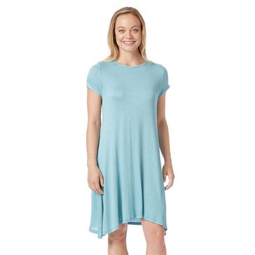 Yarn & Sea Women's Breakwater Solid Knit Swing Dress