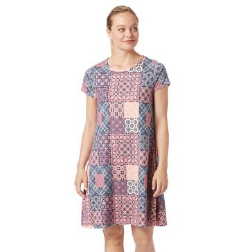 Yarn & Sea Women's Breakwater Patchwork Yummy Knit Swing Dress
