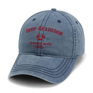 True Religion Men's Washed Baseball Hat