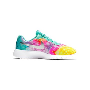 Nike Girls Tanjun Print Running Shoe (Youth)