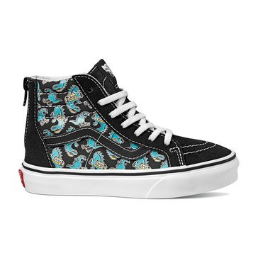 Vans Boys SK8-HI Zip Vanosaur Hi Top Skate Shoe (Little Kid/Youth)