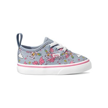 Vans Infant/Toddler Girl's Authentic Rainbow Dragon Slip-On Sneaker (Infant)