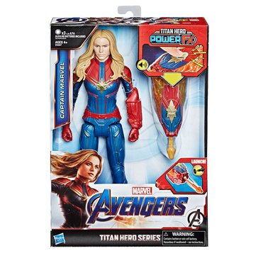 Marvel Avengers: Endgame Titan Hero Power FX Captain Marvel