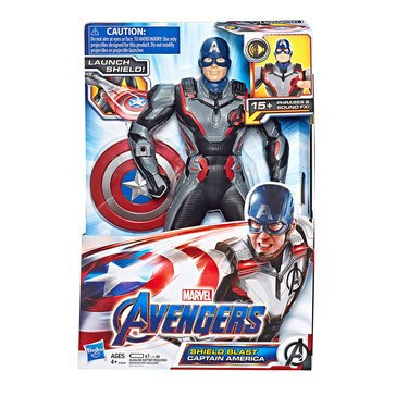 Marvel Avengers: Endgame Shield Blast Captain America 13-Inch-Scale Figure