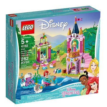 LEGO Ariel, Aurora, and Tiana's Royal Celebration