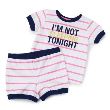 Jammers Toddler Girl's Not Sleeping Pjs