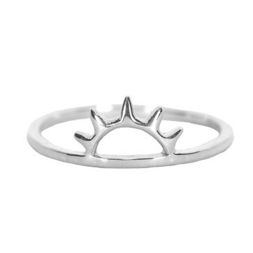 Pura Vida Sunset Ring, Sterling Silver