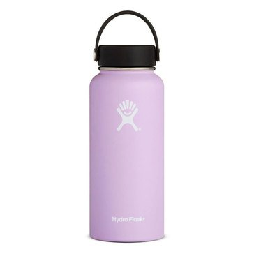 Hydro Flask 32 Oz Wide Mouth Bottle with Flex Lid - Lilac