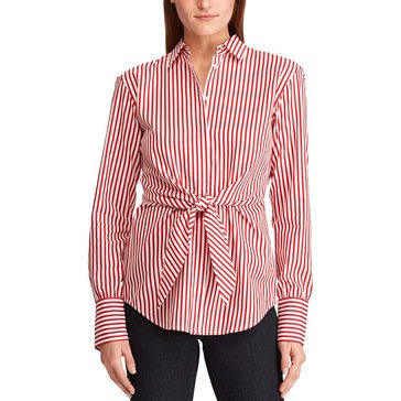 Lauren Ralph Lauren Women's Pico Striped Shirt