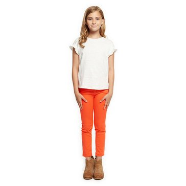 Dex Big Girls' Knit Top With Frill Detail