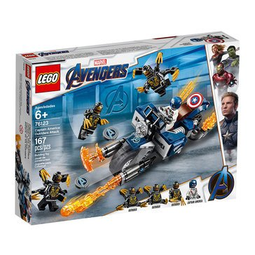 LEGO Marvel Avengers Captain America Outriders Attack (76123)