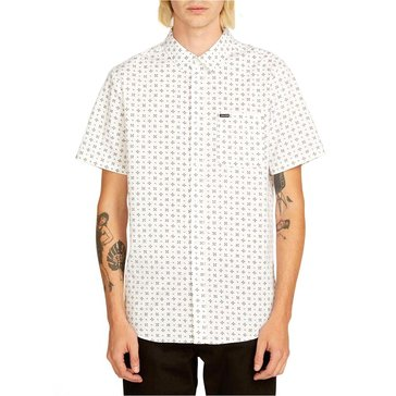 Volcom Men's Salt Dot Printed Woven