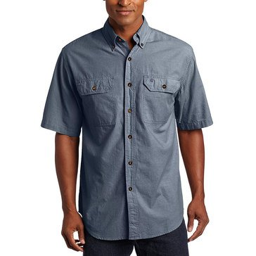 Carhartt Short Sleeve Fort Solid Chambray Woven