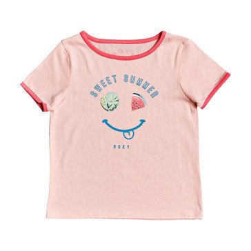 Roxy Little Girls' Times Up Ringer Tee
