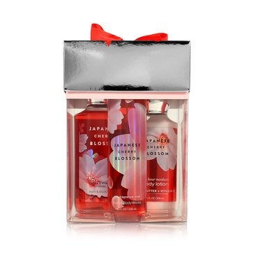 Bath & Body Works Japanese Cherry Blossom Boxed Set