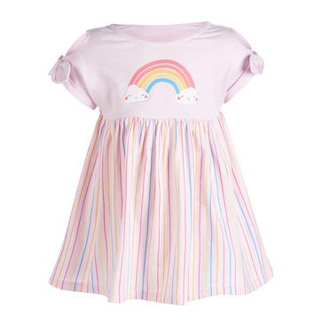 First Impressions Baby Girls' Rainbow Dress