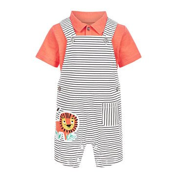 First Impressions Baby Boys' Lion Shortall Set
