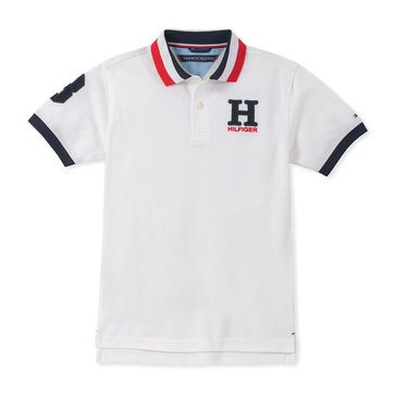 Tommy Big Boys' Matt Polo H Emblem