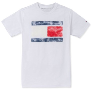 Tommy Big Boys' Faded Color Block Tee