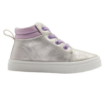 Oomphies Girls Sam Canvas Mid Sneaker (Toddler/Little Kid)