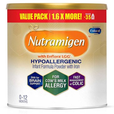 Nutramigen with Enflora LGG Hypoallergenic Infant Formula, Powder Can