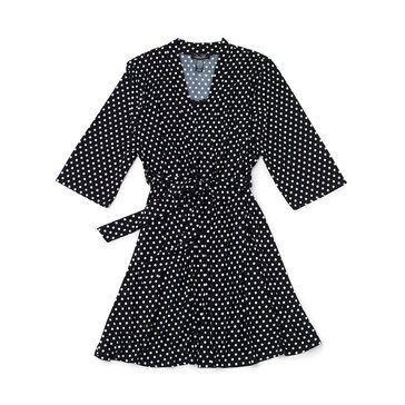 Rene Rofe Womens 2PC Dot Robe and Chemise Set