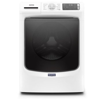 Maytag 4.5-Cu.Ft. Front Load Washer, White (MHW5630HW)