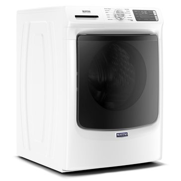 Maytag 4.8-Cu.Ft. Front Load Washer, White (MHW6630HW)
