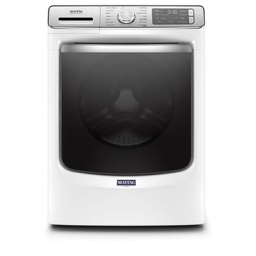 Maytag 5.0-Cu.Ft. Smart Front Load Washer, White (MHW8630HW)