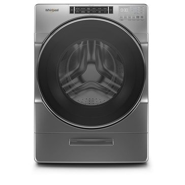 Whirlpool 5.0-Cu.Ft. Front Load Washer, Chrome Shadow (WFW8620HC)